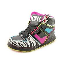 Osiris Girls NYC 83 Slm Ult Black Patent Leather Skate Shoes
