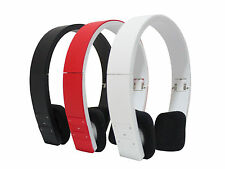 Bluetooth 4.0 Stereo Audio Wireless Headset Headphone For Phone Tablet Laptop PC