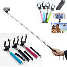 Extendable Handheld Selfie Stick Monopod For Iphone Samsung HTC Phone Camera