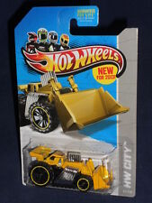 HW NEW For 2013 Board HW City City Works #43  Speed Dozer  Yellow