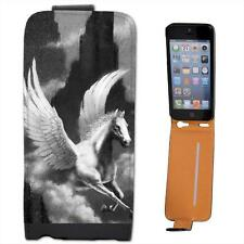 Pegasus Flying Horse Leather Flip Case for Apple iPhone 5s