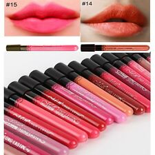 Hot Sell 38 Color Beauty Makeup Waterproof Lip Pencil Lipstick Lip Gloss Lip Pen