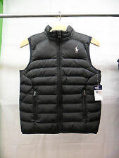 Polo Ralph Lauren Padded Black Gilet Jacket - Junior Childrens Kids Boys