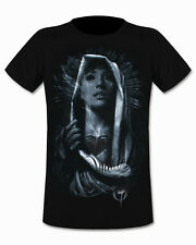 Ominous Sacred Blood Mens T Shirt Black Jak Connolly Tattoo Goth Tee Sullen