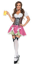New Sexy Gretchen German Beer Maid Wench Oktoberfest Adult Halloween Costume