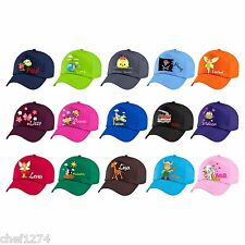 Cap for children with your image and name-cap baseball cap hat sun protection