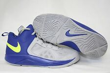 NEW Boys Kids Youth NIKE Dual Fusion BB 537574 401 Hyper Blue Wolf Grey Shoes