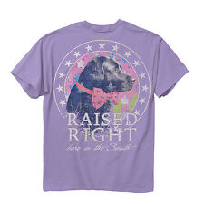 Hayley Jane Raised Right Here in the South Women's T-shirt - Lavender
