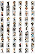 WWE Wrestling Toy Figures Ruthless Aggression Classic Modern Superstars WCW WWF
