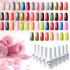 Elite99 Soak Off Gel Nail Polish UV LED Top Coat Primer Manicure Kit 15ml New