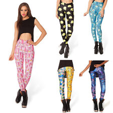 Women's ADVENTURE TIME Printing PRINCESS BUBBLEGUM Galaxy LEGGINGS HWMF Pants