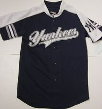 NEW Boys Kids Youth STITCHES New York NY YANKEES Blue Stitched MLB Jersey