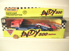 MATCHBOX INDIANAPOLIS 500 Race Car Transporter Truck with Race Car Mint Boxed*