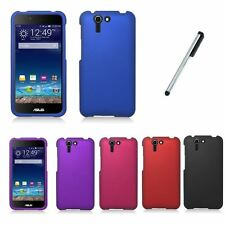 For Asus Padfone X Solid Color Hard Plastic Cover Phone Case  + Stylus NEW