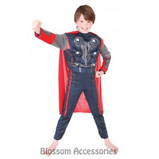 CK197 Thor Premium Avengers Marvel Superhero Child Boys Book Week Costume Outfit