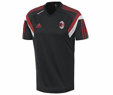 adidas AC Milan 2014-2015 Training Soccer Jersey Brand New Black / Red /White