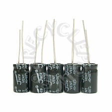 Lot of 2200uF μF 10V Radial Lead Electrolytic Capacitor 10x17 mm