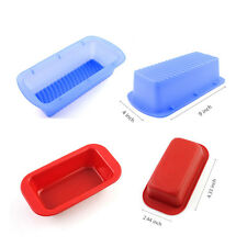 Rectangle Muffin Chocolate Candy Jelly Fondant Cake Mold Silicone Baking Pan