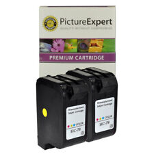 2 x 78 C6578AE C6578 AE Compatible Colour Ink Cartridge For HP Printers