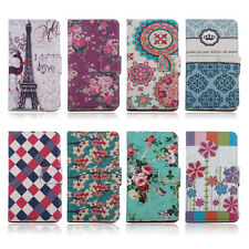 Luxury Flower Leather Flip Wallet Pouch Case Stand Cover for LG Google Nexus 5
