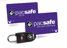 PacSafe Pro Safe ProSafe 750 TSA Key-Card Luggage Lock Anti-Theft  Security
