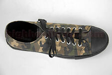 Demonia USA Gothique Darkwave Militaire Look Baskets Convers Toiles Tarnm Beauté
