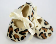 Leopard Print Soft Soled Girl Baby Infant Shoes Size6-9 9-12 12-18 Month Walking
