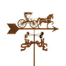 Antique Look - Horse & Buggy - Doctor Weathervane - Complete w/ Choice of Mount