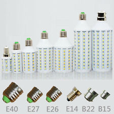 E27 E14 B22 E26 E40 B15 5W 6W 8W 12W 15W 25W LED 5050 Light Bulb Lamp 110V 220V