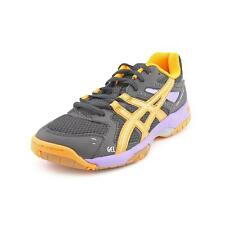 Asics Gel-Rocket 6 Womens Black Basic Textile Tennis Shoes