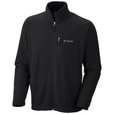 Columbia Fast Trek II Full Zip Fleece Jacket - Black
