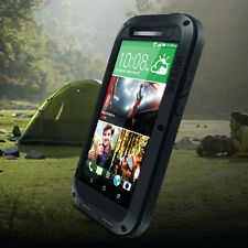 Waterproof Shockproof Gorilla Glass Aluminum Metal Case Cover For HTC ONE M8 ##