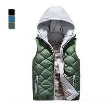 New Koresn version men vest casual fashion detachable hooded vest WM0003 jacket