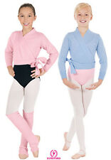 New Top Wrap Sweater Ballet Dance Skating Ballet Pink Youth Size