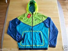 New with Tag Nike Men's HYP tech Windrunner hooded full zip JACKET 585109-303