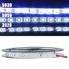NEW 5M 300 LED 3528 5050 5630 SMD White Flexible Light Strip 60 LEDS/Meter 12V