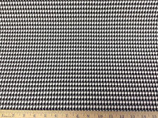 Discount Fabric Premier Prints Houndstooth Black and White 01PR