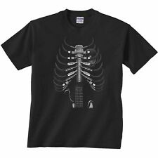 Amped Up Shirt Guitar Amp Plugs Microphone Rib Cage