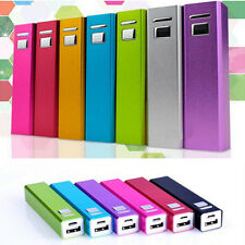 Aluminizing USB 2600mAh Power Bank 18650 Battery Charger DIY Kit for iPhone 5 5S