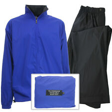 IXSPA Men's Packable Breathable Waterproof Golf Rain Suit - NEW