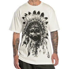 SULLEN CLOTHING BIG CHIEF NATIVE AMERICAN NATURE WILDLIFE INK GOTH T SHIRT S-5XL