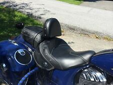 2014 INDIAN CHIEF QUICK RELEASE DRIVER BACKREST FITS ALL CHIEF MODELS
