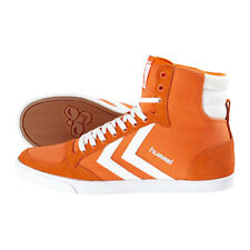 HUMMEL TRAINERS SLIMMER STADIL HIGH MENS CANVAS HI TOPS UK 11 POPSICLE