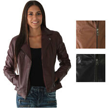 Marc New York By Andrew Marc Brianna Women's Motorcycle Leather Jacket