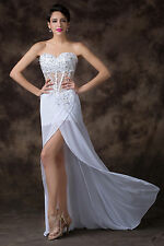 Victorian ball gown Sweetheart Bridesmaid Evening Prom Club Dress Shiny NEW Gown