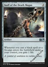 4 Staff of the Death Magus ~ m15 Mtg Magic Artifact Uncommon 4x x4