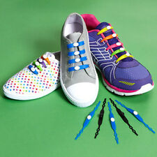 Jazzy Sport Laces: Revolutionary Silicone Laces Makes Shoes Into Slip-Ons 14 Pk
