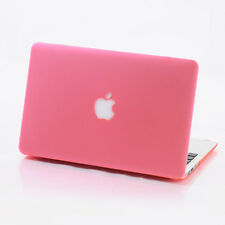 Pink Matte Rubberized Hard Case Cover For Macbook Air Pro 11 13 15 inch Retina