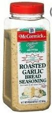 McCormick Roasted Garlic Bread Seasoning 1 or 2 ~20 oz. Jar