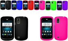 Any Flexible Silicone Cover Case Skin For Tracfone/Net10 ZTE Midnight Z768G